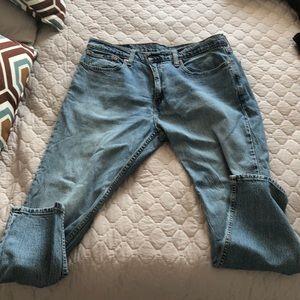 BOGO ☺️ Levi's mens light wash jeans 502